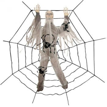 Skeletal cobwebs victims 240 cm