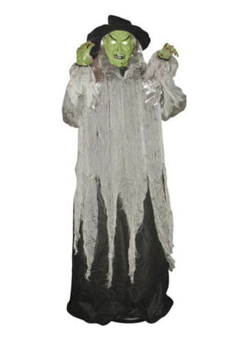 Floating Gory Witch Animatronic 150cm