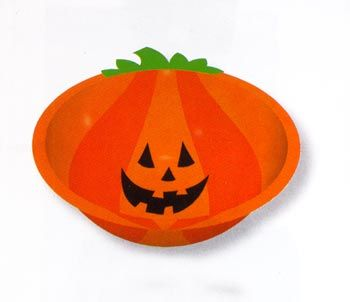 Funny Pumpkin Bowl