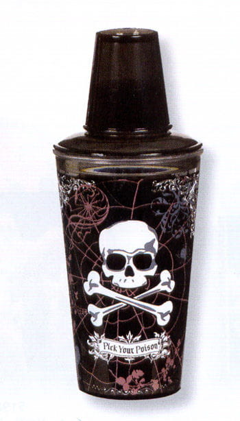 Dark Poison Cocktail Shaker