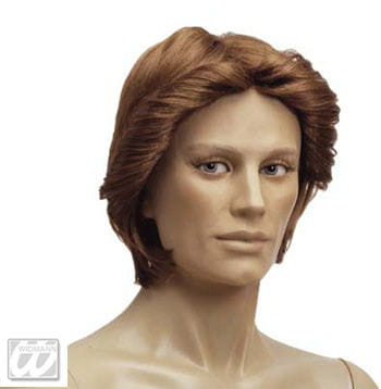 Mens Wig Florian Brown