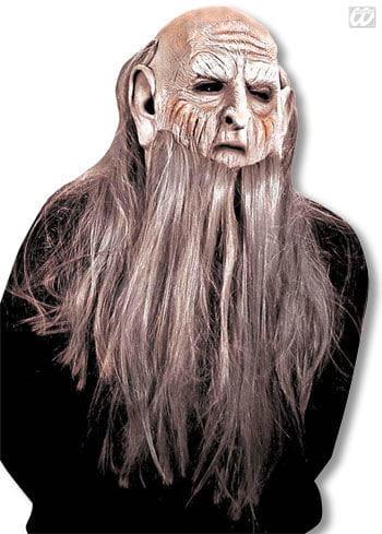 troll maske amiaz alter mann maske zwergen maske troll. Black Bedroom Furniture Sets. Home Design Ideas