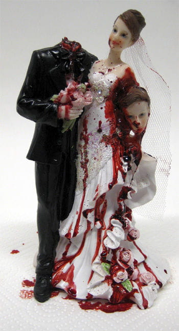 Newlyweds with headless groom 23cm premium