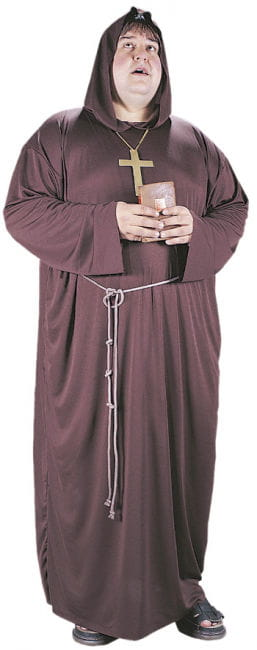 Monk`s robe Costume XL