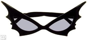 Bat Woman Sonnenbrille blaues Glas