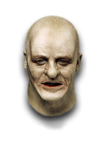 Old Hannibal Lecter Foam Latex Mask