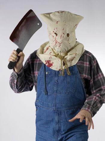 Bloody Hood Gore Mask