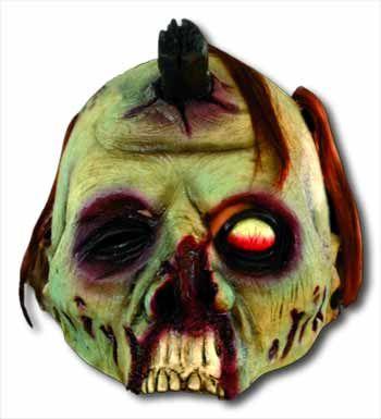 Peghead Zombie Half Mask
