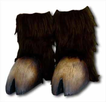Monster Hooves Dark Brown