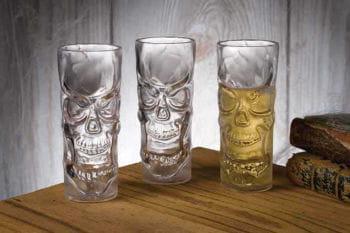 Totenkopf Schnapsglas Screaming Skull