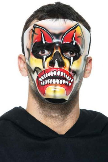Diabolic Demon PVC Face Mask