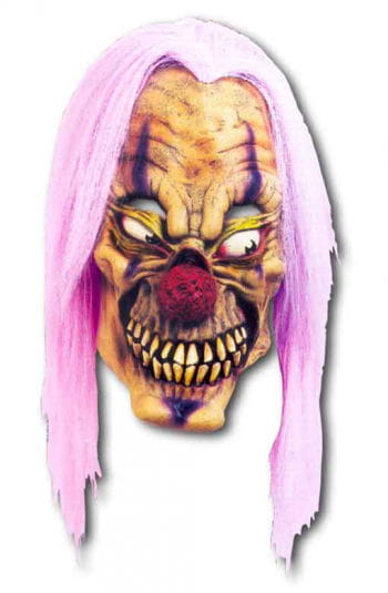 Purple Acid Clown Maske