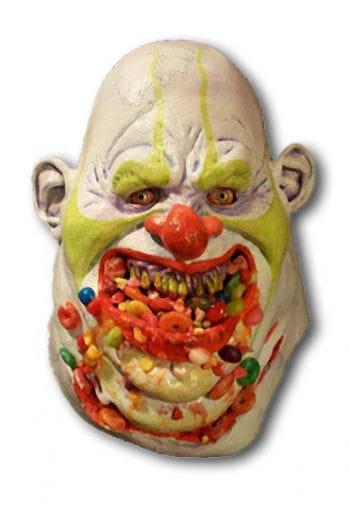 Candy Clown Maske