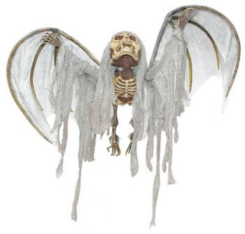 Hanging Wafting Bat Skeleton