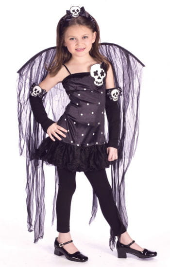 Crazy Gothic Fairy Child Costume Size L
