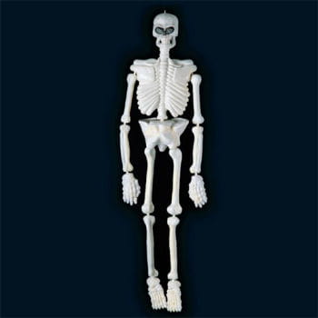 White UV Glow Skeleton