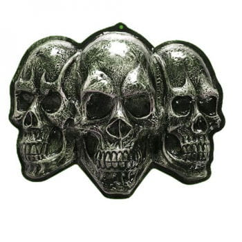 Skull wall decoration