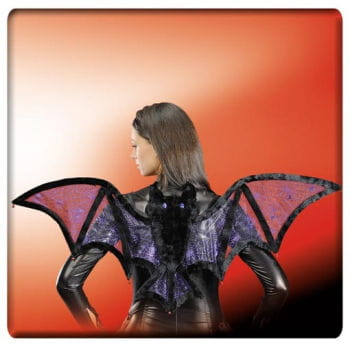 Bat wings purple / metallic