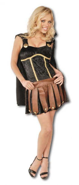 Sexy Gladiator Costume black Gr. M / 38