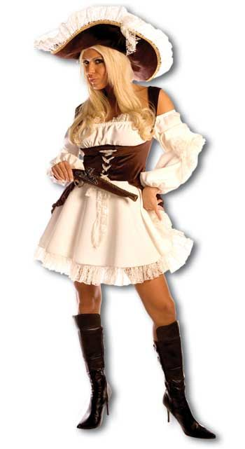 Romantic Pirate Bride Costume Size S / 36-38