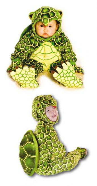Turtle Baby Costume Size S / 6-12 Months