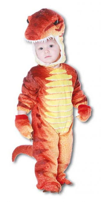 Dino Rex Costume Red L
