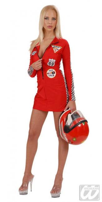 Sexy Boxenluder Rot Kostüm Gr. 36/38