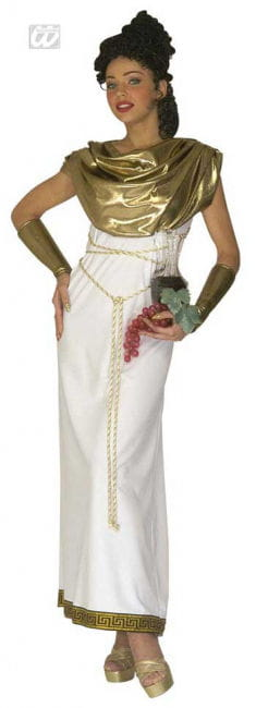 Greek goddess Persephone costume M