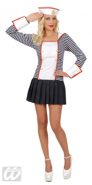 Sexy Sailor Bride Costume Size L
