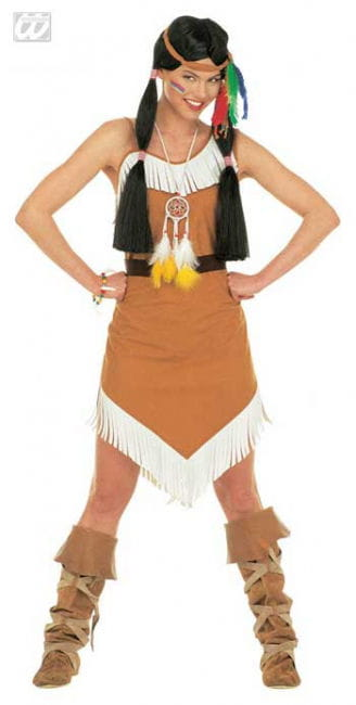 Squaw / Indian Costume. M