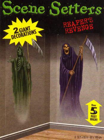 Uncanny Reaper wall film