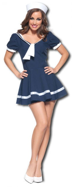 Flirty Sailor Premium Costume Small