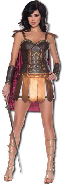 Xenia Amazon Warrior Premium Costume. L