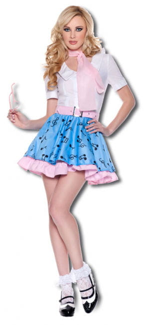 Rock n Roll Girl Premium Costume. S