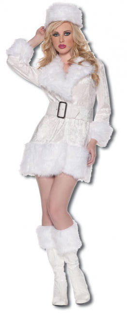 Hot Snow Queen Premium Costume. M