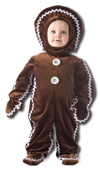 Delicious gingerbread man costume medium