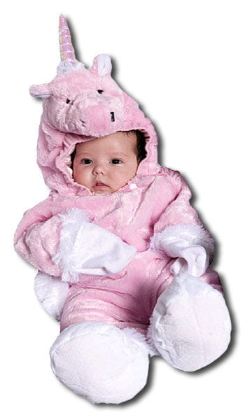 Pinkes Unicorn Baby Costume