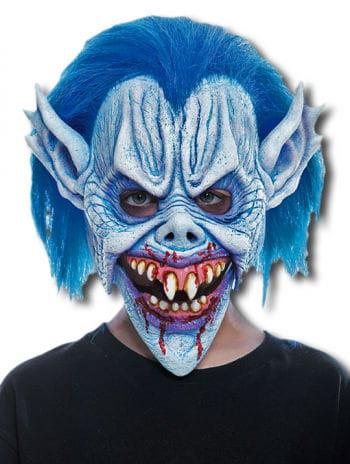 Blue Devil Child Maske