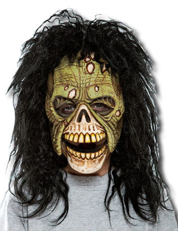 Zombie Child Mask Green
