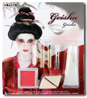 Geisha Make Up Set