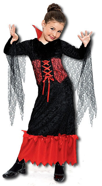 Vampire Queen Child Costume Size S