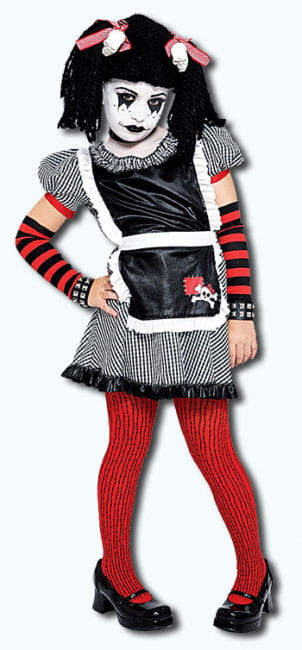 Gothic Dangling Puppet Child Costume. M