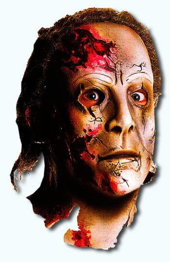 Michael Myers Maske Rob Zombie 2010