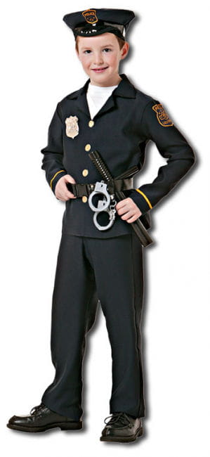 Policeman Child Costume S