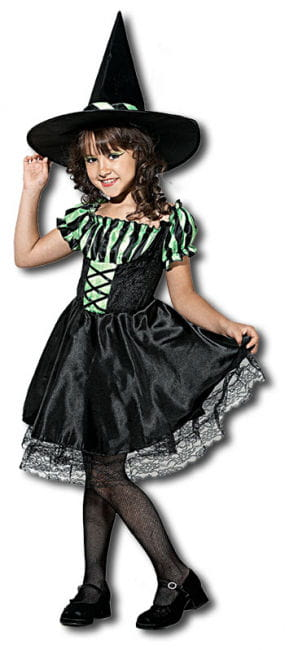 Lime Witch Child Costume. S