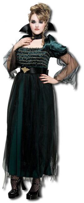 Königin der Vampire Kostüm XL