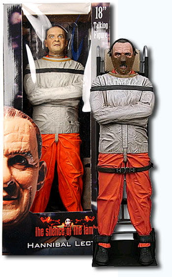 Hannibal Lecter Talking Action Figure 45cm
