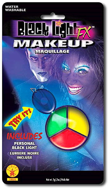 Blacklight Make Up 3 color