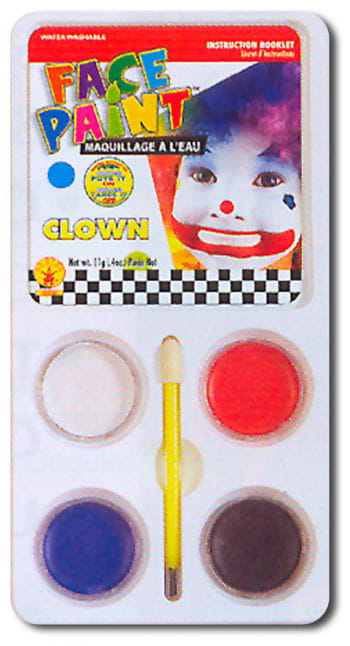 Clown Aqua-Make up Schminkset