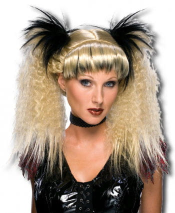 Gothic Punk Wig Black / Brown